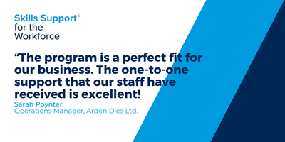 Modernizing the workforce: How Arden Dies Ltd. upskilled their long-term staff
